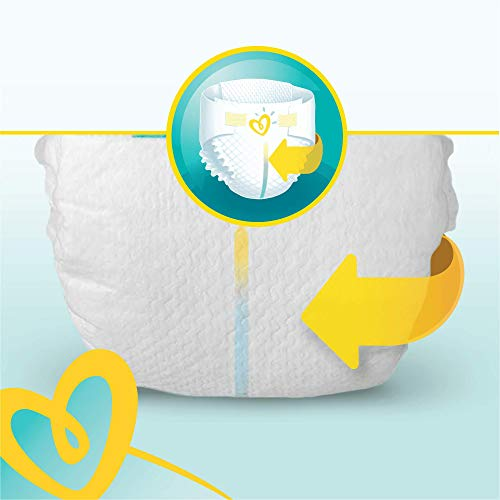 Pampers New Baby 96 Nappies, 2 - 5 kg, Size 1