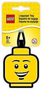 LEGO Lights IQLUG-51167 - Etiqueta para Equipaje, Color Amarillo