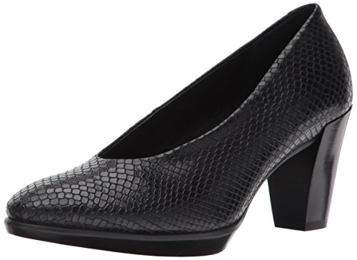 Ecco Damen Shape 55 Plateau Stack Pumps, Schwarz (Black), 41 EU (Stack Heel)