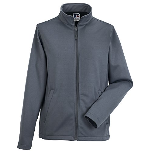 Russell Athletic - Blouson - Homme Gris - Convoy Grey