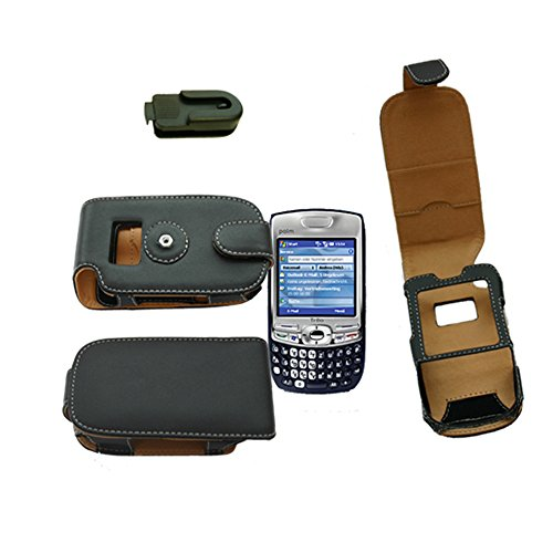 Ledertasche Treo 750: Ledertasche für Palm Palmone Treo Smartphones der Serien 680, 720 und Treo 750 Smartphone Mobile - weitere kompatible Geräte Siehe Beschreibung Palm Treo-serie