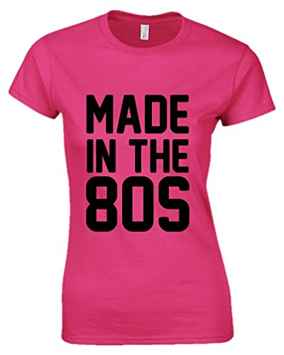 Ladies Pink Made in the 80s Shirt. Size 8