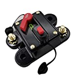 Docooler Mini Size Lightweight Portable Automatic Car Circuit Breaker 12V-24V DC Thermal Circuit Breakers Easy Installation Device