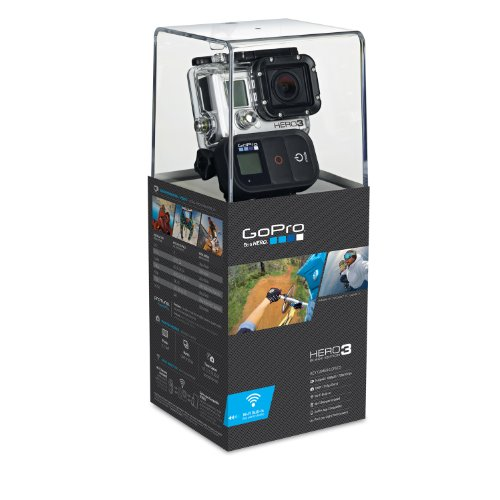 Foto de GoPro HERO3 Black Edition - Videocámara de 12 Mp (estabilizador de imagen óptico, vídeo Full HD 1080p, resistente al agua, WiFi) color negro