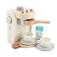 New Classic Toys 10705 Coffee Maker, Multicolor (White)