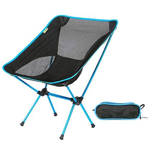 Explorateur Extérieur Chaise pliante Portable File d'attente Directeur Directeur Chaise de plage Chaise de croquis Tabouret de voiture (Color : Black)