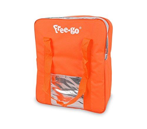 2502t borsa termica free-go 24 lt doppio manico h39xl32xp15 cm tasca anteriore. mws (arancione)