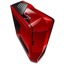 NZXT Phantom Big-Tower PC ( E-ATX, 5x 5,25 extern, 7x 3,5/2,5 intern, 7x Lüfter, USB 3.0) rot