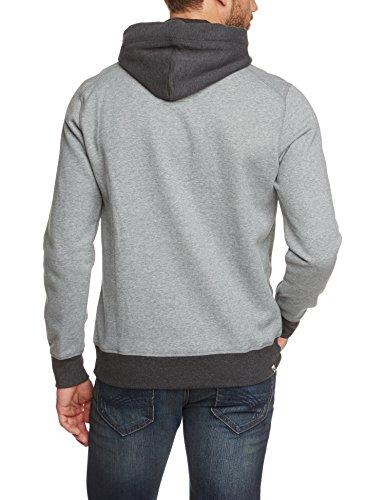 PUMA Herren Sweatshirt Fun Ath.Hooded Sweat Medium Gray Heather