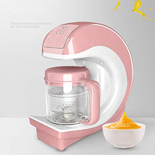 Macinacaffè, macchina per l\'alimentazione degli alimenti per bambini al vapore multifunzionale, vaschetta per alimenti per neonati, piroscafo con pannello Smart Touch per una maggiore facilità d\'uso