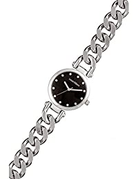 Reloj mujer Louis Villiers acero negro 33 mm al2927 – 02