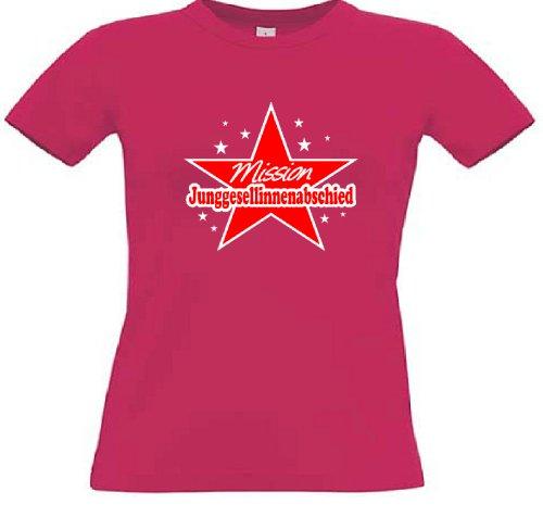 T-Shirt für den Junggesellinnenabschied mit dem Motiv Mission Junggesellinnenabschied Sorbet
