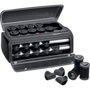 boutique - 41Cd3TVnhiL - BaByliss Boutique Salon Ceramic Heated Hair Rollers (444414699)