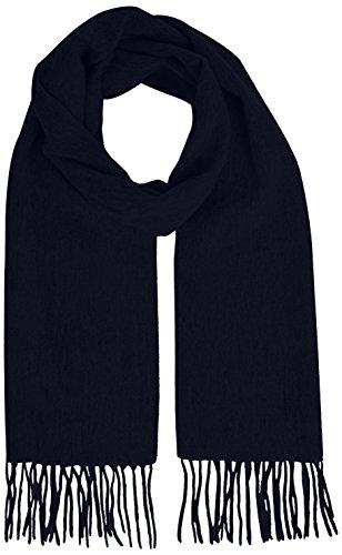 Selected Tope 100% Wool-Sciarpa Uomo,    Blu (Navy Blazer) taglia unica
