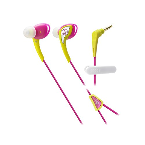 Audio-Technica ATH-SPORT2PY Waterproof Pink/Yellow