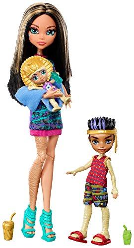 Monster High Monster Family of Cleo de Nile (Monster High Cleo De Nile)