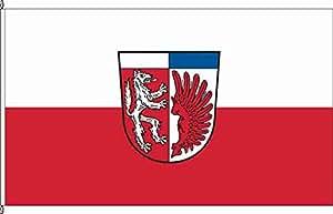 Hissflagge Oerlenbach - 150 x 250cm - Flagge und Fahne