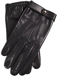 Dents James Bond Spectre Leather Driving Gloves BLACK