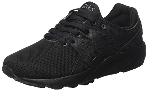 Asics Unisex Adults' Gel-Kayano Trainer Evo Low-Top Sneakers, Black (Black/Black), 7 UK...