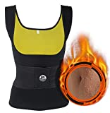 AFUT Damen Saunaanzüge Sweat Sauna Weste Corsage Korsett Bauchweg Waist Trainer abnehmen Hot Shaper Vest Taillenformer Taillenmieder für Gewicht Loss Fitness Figurformender