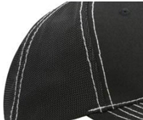 HOMME FEMME Bonnet Chapeau Casquette Snapback Baseball Cap Mesh respirante Alphabet letters A-Z Snap Back (Z) O