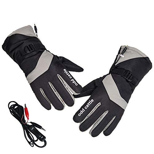 Cathy02Marshall Elektrische Beheizte Handschuhe, Mermaid Elektrische Beheizbare Handschuhe Baumwolle Handgefertigte Füße Warmers Für Männer Frau Outdoor-Sport Snowboard, Skifahren, Jagd, Pleasure