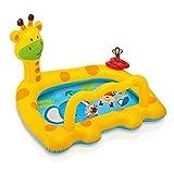 Miya Kreativer Giraffen-Kinderaufblasbarer Swimmingpool, Wasserspielzeug-Planschbecken,...