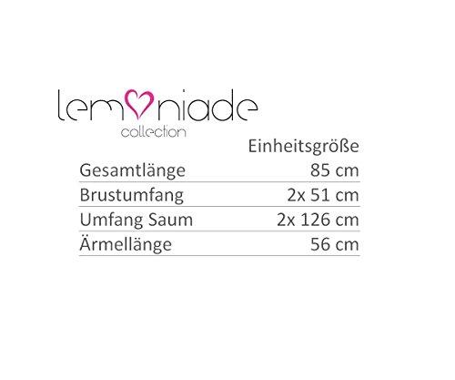 Lemoniade -  Cardigan  - Donna Hellgrau-Weiß
