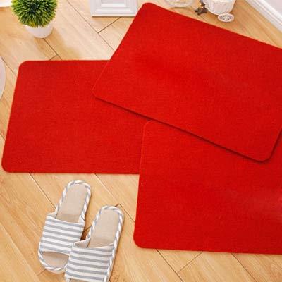FeiXing158 Solide Anti Rutsch Bad Teppich waschbar saugfähige Matte im Flur Eingang Fußmatte Schlafzimmer Wohnzimmer Teppichboden -