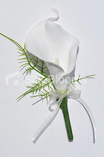 gorgeous-artificial-white-fresh-touch-calla-lily-wedding-buttonhole