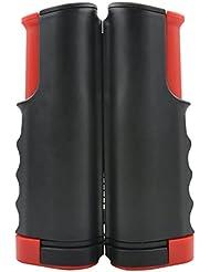 befitery portátil retráctil Red de tenis de mesa tenis de mesa de tenis de mesa de tenis de mesa PING PONG accesorios, negro