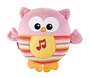 Fisher Price Buhito dulces sueños rosa, juguete de cuna para bebé (Mattel CDN88)