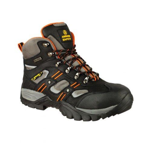 Amblers Safety FS193 - Chaussures montantes de sécurité - Homme Noir/Gris/Orange