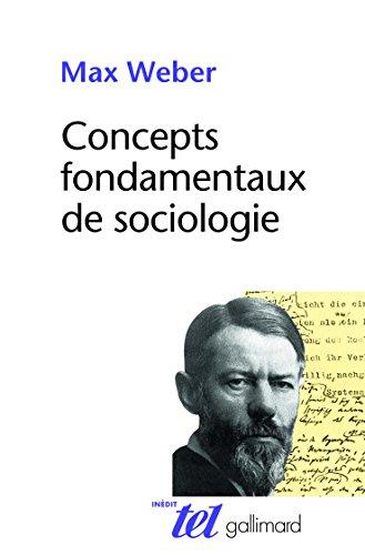 Concepts fondamentaux de sociologie