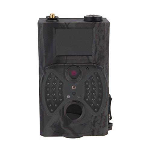 """HC300M 12MP Full HD 1080P Jagd-Kamera Wildkamera, MMS GPRS Infrarot Spiel-Hinterkamera PIR Bewegungssensor Kamera, Nachtsicht Wasserdichte Überwachungskamera mit 2.0"""" LCD Display"""