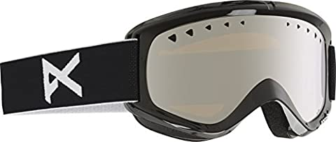 Anon Herren Snowboardbrille Helix, Black/Silver Amber, 10766100008 - Anon Helix Snowboard Goggles