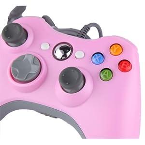 Althemax® kabelgebundene USB Game Pad Joysticks Controller Für Microsoft Xbox 360 PC Windows 10 Rosa