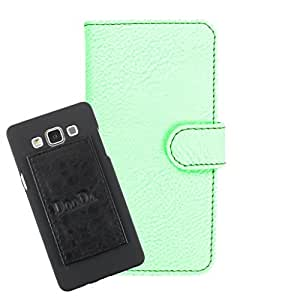 DooDa PU Leather Wallet Flip Case Cover With Card & ID Slots For Huawei Y541 - Back Cover Not Included Peel And Paste
