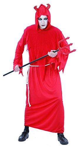 Generique - Costume Diavolo Uomo Halloween Taglia unicaCostume Diavolo Uomo Halloween Taglia Unica