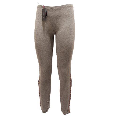 0334Q LEGGINGS PATRIZIA PEPE grigio pantalone donna trouser woman [0 /XS]