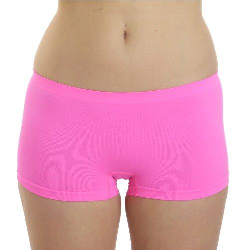 LisaModa 2er Pack Seamless Panty pink S/M 34-38