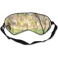 Sleep Eye Mask Forest Brook Lightweight Soft Blindfold Adjustable Head Strap Eyeshade Travel Eyepatch E16 preisvergleich bei billige-tabletten.eu