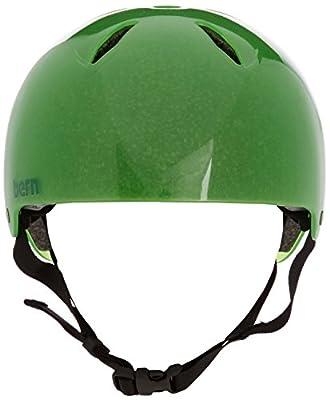 Bern Boy's Diablo Thin Shell EPS Helmet - Translucent Neon Green, Small/Medium/51-54 cm from Bern