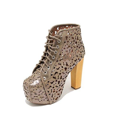 3394I tronchetti donna JEFFREY CAMPBELL lita daisy scarpe ankle boot shoes women [40]