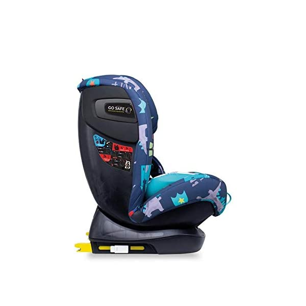 Cosatto CT4262 All in All + Group 0+123 Car Seat Dragon Kingdom (5PP 8.9 kg Cosatto Extended rear facing Suitable for all stages Extra security 3