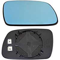 TarosTrade 57-0212-R-51154 Cristal De Retrovisor Calefactable Azul Lado Derecha