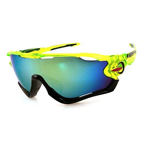 Outdoor-Sport-Sonnenbrillen Explosionsgeschützte elektrische Fahrrad-Sonnenbrillen für Männer und Frauen Allgemeine Farbabstimmung Charakter Tornado Radfahren Laufen Sport-Sonnenbrillen Sonnenbrillen