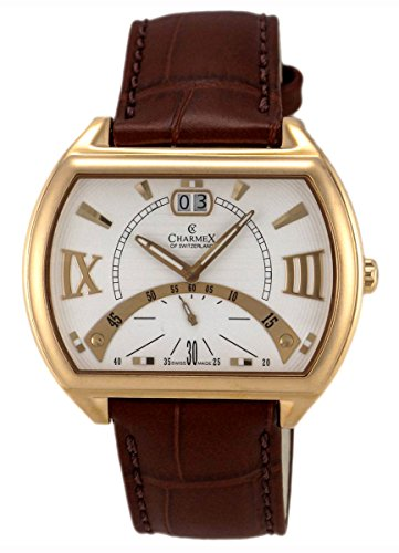 charmex-of-switzerland-monte-carlo-rose-gold-plated-steel-mens-watch-white-dial-2330
