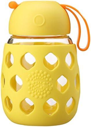 KLWJ KLWJ KLWJ Bottiglia di vetro acqua,Bottiglia di acqua portatile,Balconcino Studente Creativo Tazza di tè Bottiglia della spremuta Bottiglia di vetro tazza piccola sveglia impostata per l'acqua-B B07CG6F7L1 Parent   Negozio online di vendita    Prezzo e 7f0af9