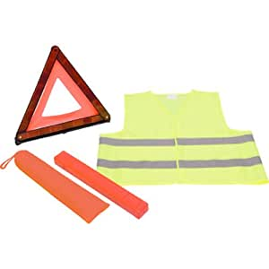 kit securite triangle de signalisation gilet jaune. Black Bedroom Furniture Sets. Home Design Ideas